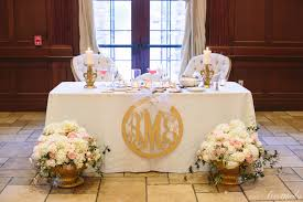 Sweetheart Table Decorations Bride Groom Wedding Table Decorations