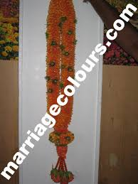 indian wedding garland price orange and green dots garland south indian wedding garland designs