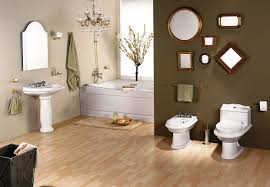 Brown Accent Wall by Accent Wall Paint Ideas Bathroom