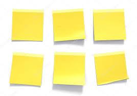 pense bete bureau jeu de pense bête jaune utilisé dans un bureau pour les rappels et