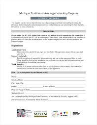 9 apprenticeship application form templates free word pdf