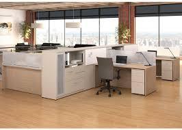 Modular Desk Components by Pecks Op Office Furniture