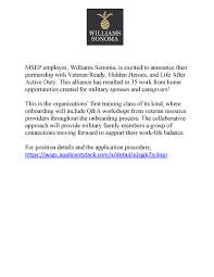 williams sonoma fort campbell mwr life