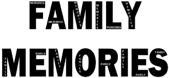 words imagined family memories