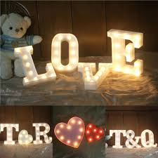 white light up letters good light up wall letters and like this item 83 light up love