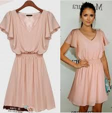 pale pink dress with sleeves naf dresses