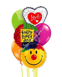 balloon delivery utah grand birthday smile balloon bouquet 1 800 balloons