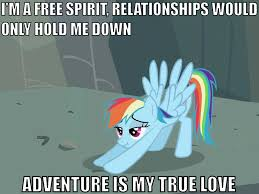 Rainbow Dash Meme - well said rainbow dash my little pony friendship is magic