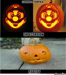 Pumpkin Carving Meme - pumpkin carving fail by surrenderdorothy meme center