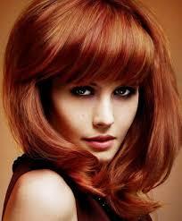 medium length hairstyles for thick hair medium length