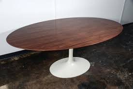 Industrial Pedestal Table Double Pedestal Dining Table With Leaves Modern Oval Contemporary