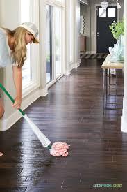 Cleaner For Hardwood Floors Fall Cleaning For Hardwood Floors Life On Virginia Street