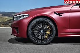 2018 bmw m5 fast facts wheels