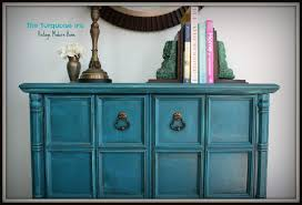 teal accent table the turquoise iris furniture art teal vintage foyer table