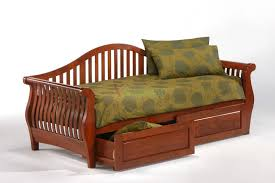 Queen Size Daybed Frame Bedroom Captain Style Queen Size Wood Bed With Drawers And