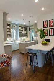 Grey And Red Kitchen Designs - remodelaholic trending now color in the kitchen