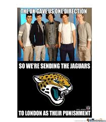 Jaguars Memes - feel bad for you brits at the jags niners game watched the