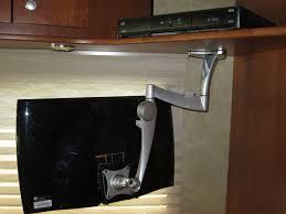 kitchen under cabinet tv home decoration ideas