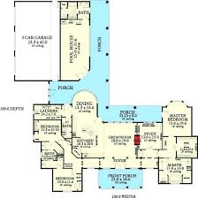 home plans with pool indoor pool house plans pool house floor plans free pool house