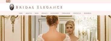 bridal websites bridal elegance salon has an new website gill