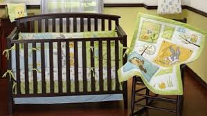 Looney Tunes Crib Bedding Baby Looney Tunes 3 Crib Bedding Set Nature