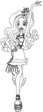 monster high coloring pages frights camera action pin by kitten weatherly on 2 color monster high pinterest