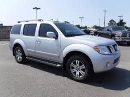 2012 used nissan pathfinder 4wd silver edition leather
