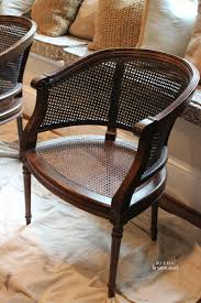 Refinishing Cane Back Chairs Painting Cane Tutorial