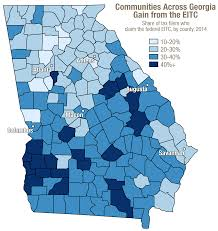 Bucks County Tax Map A Bottom Up Tax Cut To Build Georgia U0027s Middle Class Gbpi