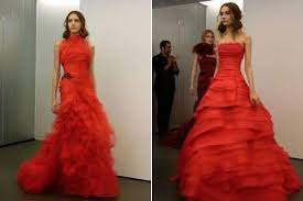 Red Wedding Dresses The Inside Scoop On Vera Wang U0027s All Red Bridal Collection