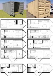 shipping container house design in 20 foot floor plan brainstorm