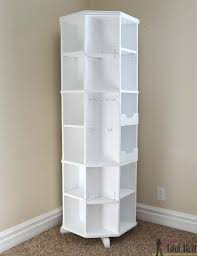 Revolving Bookcase Table Ana White Octagon Rotating Bookshelf Featuring Her Tool Belt