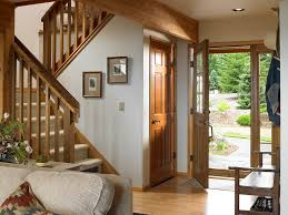 interior picture of entryway lindal cedar home in wa flickr