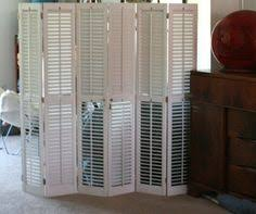 Shutter Room Divider I U0027m Sure If I Had A Room Large Enough To Divide I Would Be All