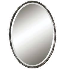 beaded oval mirror rejuvenation