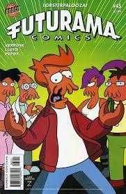 futurama comics 45 the back issue bin