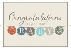 congrats on new card new baby congratulations cards by brookhollow cards