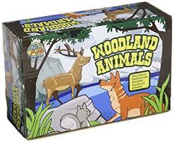 amazon com us toy woodland forest toy animal figures action