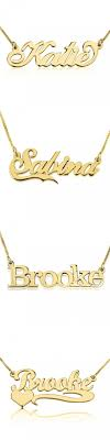 get name necklace 78 best gold plated name necklaces images on name