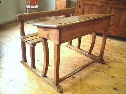bureau antiquaire bureau d écolier ancien en chêne et châtaignier antiquites