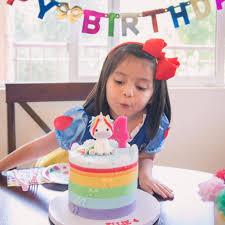 kids birthday cakes unicorn birthday cakes for kids popsugar
