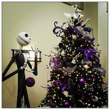 tree with purple lights