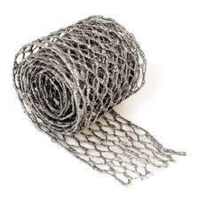 4 silvery blue glitter wire mesh ribbon 6 ribbon and
