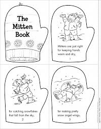 the mitten book mini book of the week from scholastic free