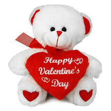 valentines day teddy big 10 inch size stuffed