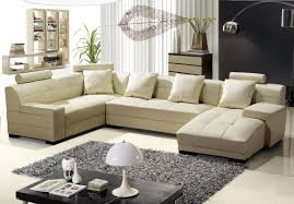beige leather sectional sofa modern beige leather sectional sofa