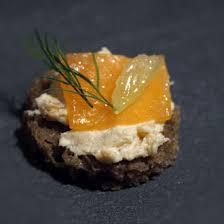 canape saumon recette de canapés à la nordique recettes diététiques