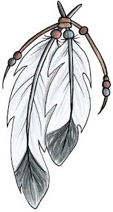 drawn feather native american pencil and in color drawn feather