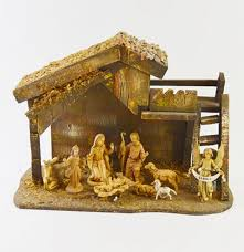 fontanni nativity set and manger ebth