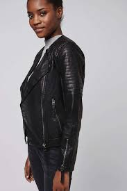 cool biker jackets quilted faux leather biker jackets u0026 coats clothing topshop usa